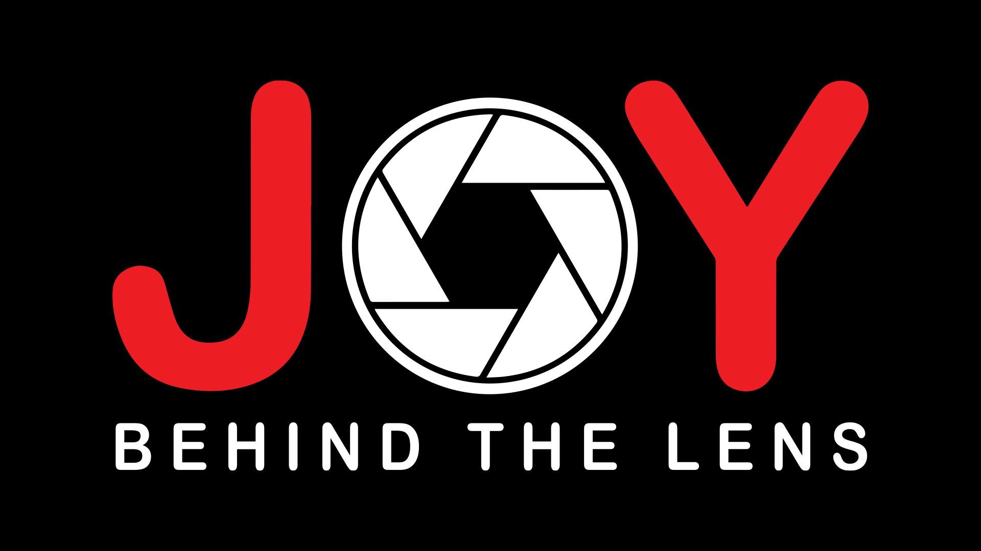 Joy Behind the Lens
